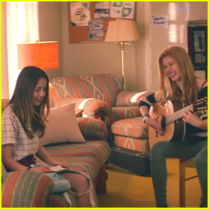 Get A Sneak Peek of Laura Marano & Katherine McNamara In 'A Sort of Homecoming'