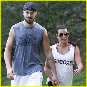 Lea Michele Ends Her Weekend with a Hike with Boyfriend Matthew Paetz