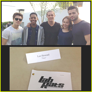 Leo Howard Is Guest Starring On 'Lab Rats'!