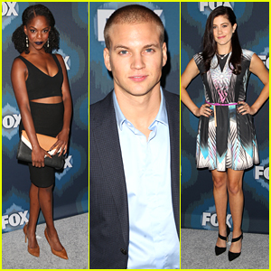 Samantha Ware & Marshall Williams Get 'Glee'-ful at Fox's TCA Party