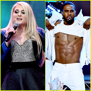 Meghan Trainor & Jason Derulo Bring the Fun to Hollywood for New Year's Eve!