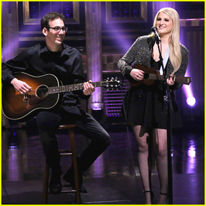 Meghan Trainor Performs Acoustic Version of 'Lips Are Movin'' - Watch Here!
