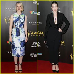 Mia Wasikowska & Sophie Lowe Step Out In Style for the ACTA Awards Ceremony 2015