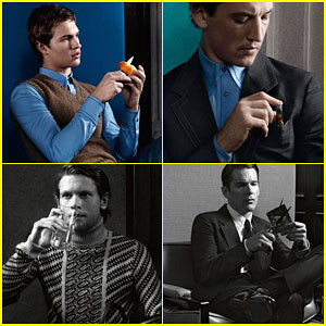 Ansel Elgort & Miles Teller Get Our Hearts Racing in New Prada Shots