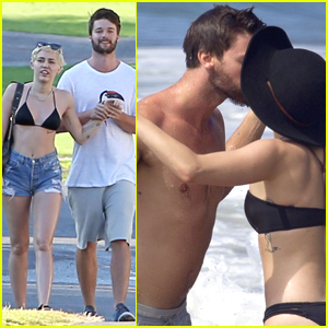 Miley Cyrus Can't Spell Patrick Schwarzenegger's Last Name