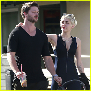 Miley Cyrus Gets Cute with Patrick Schwarzenegger After Lunch