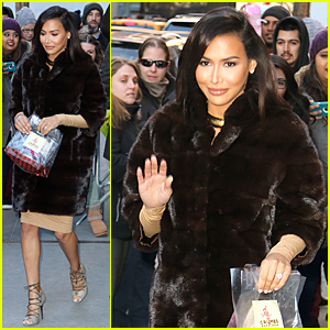 Naya Rivera Sparks Backlash From Showering Comments on 'The View'