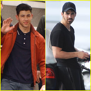 Nick Jonas Heads to Paris While Joe & Kevin Take Care of Business in the States