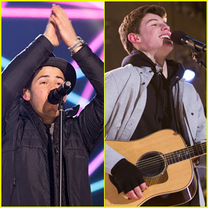 Nick Jonas & Shawn Mendes Duet 'Lean on Me' on New Year's Eve - Watch Now!
