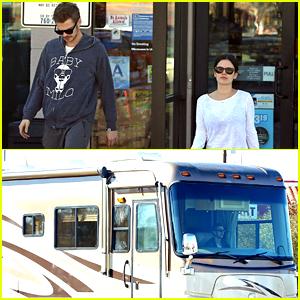 Rachel Bilson Is Driving Around In an RV with Hayden Christensen!