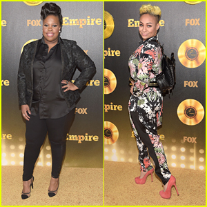 Raven Symone & Amber Riley Step Out For Fox's 'Empire' Premiere Event