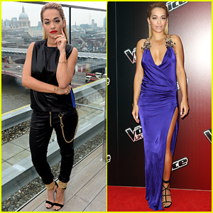 Rita Ora Changes Up Her Look to Present the New Season of 'The Voice UK'!