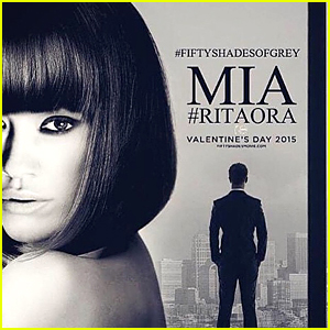 Rita Ora Looks Fierce & Hot New 'Fifty Shades of Grey' Character Poster