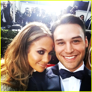Ryan Guzman Attends Golden Globes 2015 With Jennifer Lopez