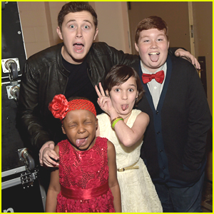 Scotty McCreery Masters Silly Faces At Stars For Wishes 2015