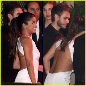 Selena Gomez Spotted Holding Hands with DJ Zedd at a Golden Globes 2015 Party!