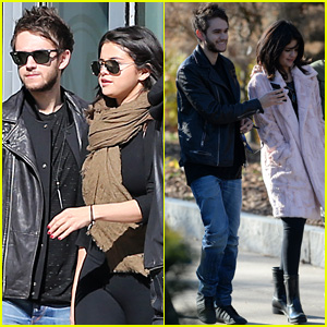 Selena Gomez & Zedd Hang Out in Atlanta Together!