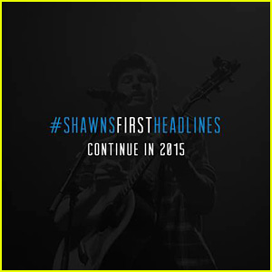 Shawn Mendes Announces 2015 Headlining Tour Dates in U.S. & Europe!
