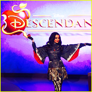 Sofia Carson Promotes 'The Descendants' In London
