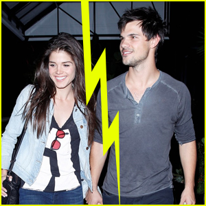 Taylor Lautner Splits from Girlfriend Marie Avgeropoulos