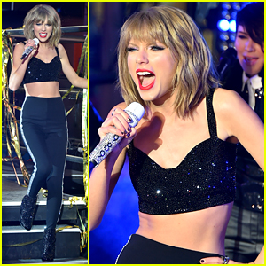 Taylor Swift Performs on New Year's Eve in Times Square - WATCH NOW!