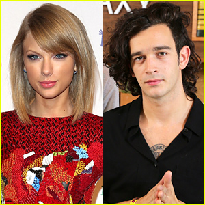 The 1975's Matt Healy Says He & Taylor Swift Aren't Dating: 'It's Fake!'