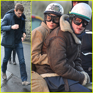 Jack Reynor Rides In The Sand Dunes For 'Secret Scripture' Filming With Theo James