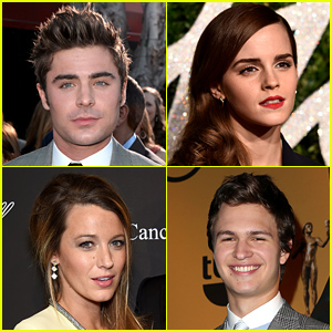Zac Efron, Ansel Elgort, Emma Watson & More Make Forbes' 30 Under 30 List!