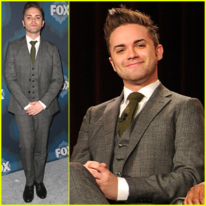 Thomas Dekker Keeps It Sharp For Fox's TCA Party