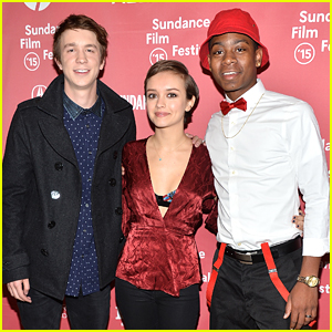 Thomas Mann & Olivia Cooke Premiere 'Me & Earl & the Dying Girl' at Sundance 2015