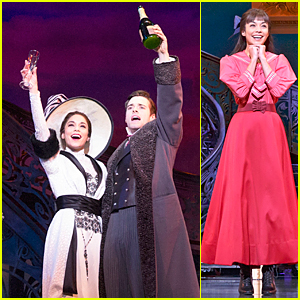 Vanessa Hudgens & Corey Cott Let Their Romance Blossom on 'Gigi' Stage