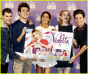 Martina Stoessel Brings 'Violetta Live' To Milan, Italy - See The Press Conference Pics!