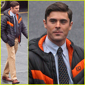 Zac Efron Gets to Work on 'Dirty Grandpa'!