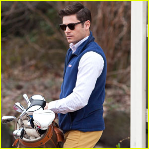 Zac Efron Channels His Inner Prep For Dirty Grandpa Filming Zac