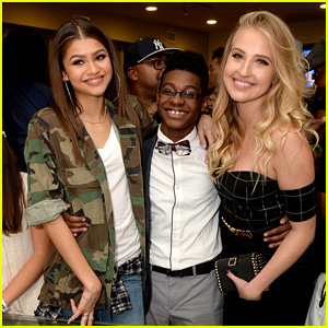Zendaya Parties with Her 'K.C. Undercover' Co-Stars at the Premiere Party!