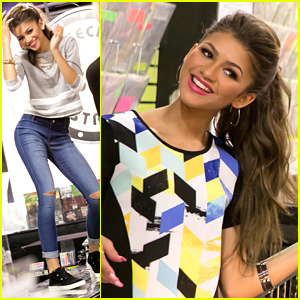 Zendaya Is Still A Material Girl - See Her Spring Campaign Pics!