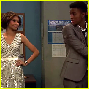 Zendaya Locks Up Trevor Jackson In New 'K.C. Undercover' Clip - Watch Now!