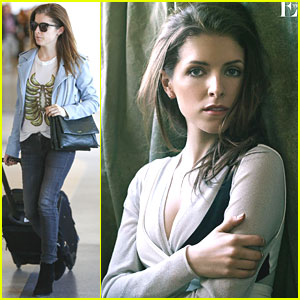 Anna Kendrick Flies To The Skies After 'The Edit' Interview