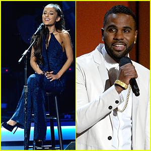 Ariana Grande & Jason Derulo Bring Their Best to Stevie Wonder Salute