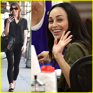 Ashley Greene Spends Her Day Off Getting Pampered With Cara Santana!