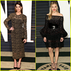 Ashley Greene & Chloe Moretz Glam Up for Vanity Fair Oscar Party 2015!