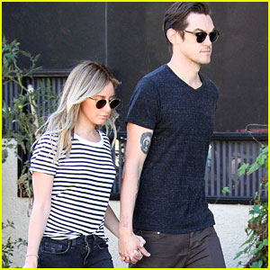 Ashley Tisdale & Christopher French Grab Friday Morning Breakfast Together