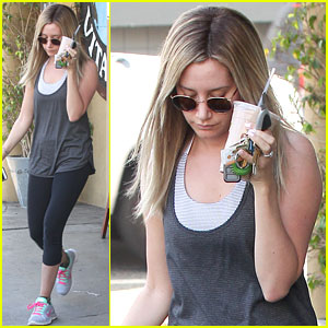 Ashley Tisdale Is Dreaming Of Cozy Sweaters For California Winter