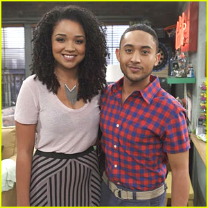 Aisha Dee Guest Stars on 'Baby Daddy' TONIGHT - See The Pics!