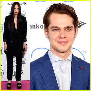 Ellar Coltrane & Lorelai Linklater Take 'Boyhood' to Spirit Awards 2015