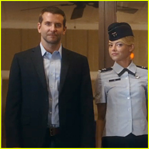 Emma Stone & Bradley Cooper Fall In Love in 'Aloha' Trailer - Watch Now!