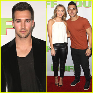 Carlos & Alexa PenaVega Join James Maslow at 'The DUFF' Premiere