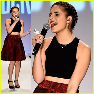 Carly Rose Sonenclar Performs at New York Fashion Week - See The Pics!