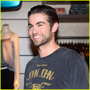 Chace Crawford Hits Up the John John Store in Brazil!