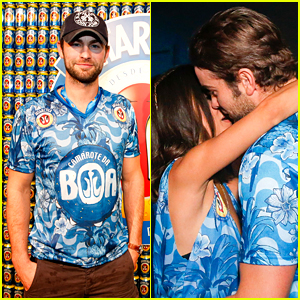 Chace Crawford Kisses Manu Gavassi in Rio!
